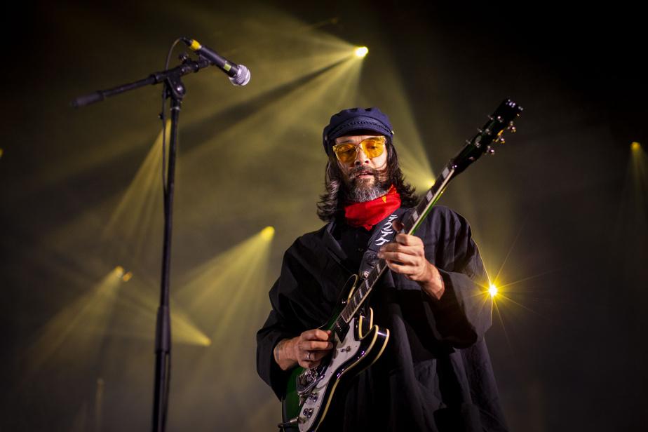 Serge Nakauchi Pelletier, guitariste de Teke::Teke