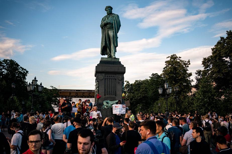 Dernier jour en Russie d'un référendum sous le signe de Poutine