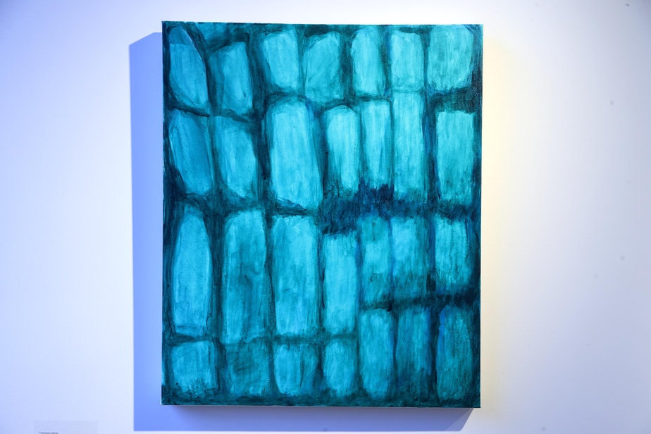 Juin2020 no.2,2020, acrylique sur toile, 61,5cm x 50,5cm