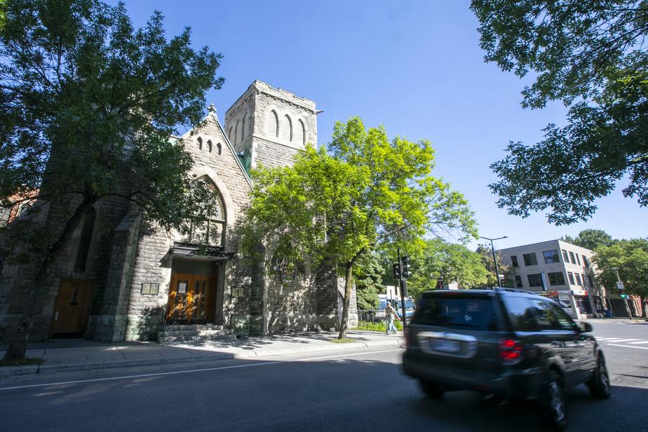 L'église Union United, rue Delisle, à Montréal, a reçu NelsonMandela lors de sa courte visite en ville au mois de juin1990.