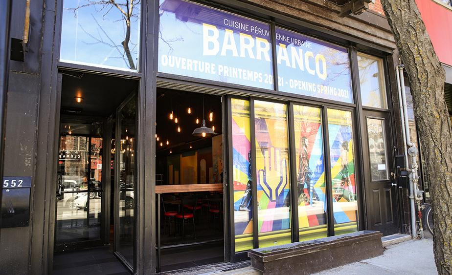 Situé rue Saint-Denis, le Barranco vient d'ouvrir.