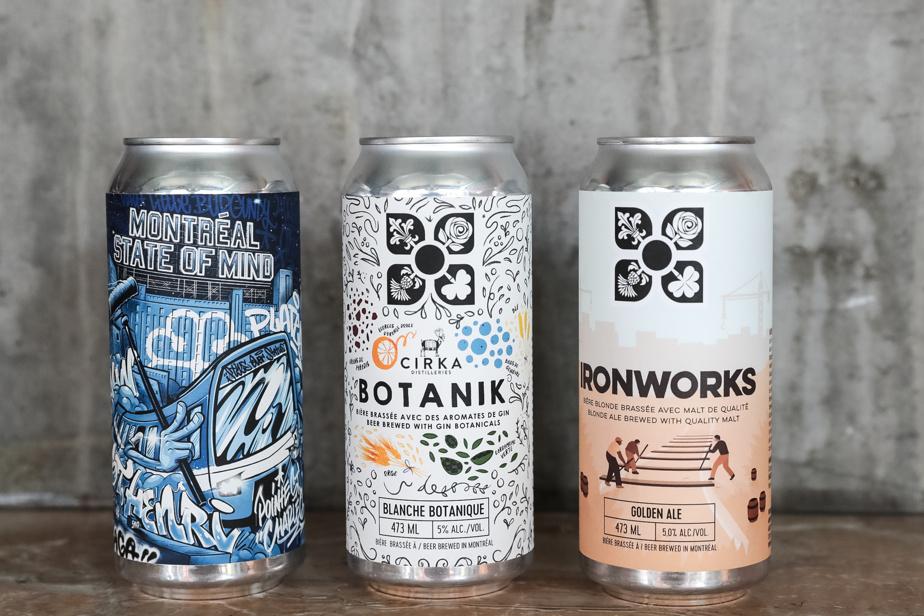 La sélection de bières provient essentiellement d'un brasseur du quartier.