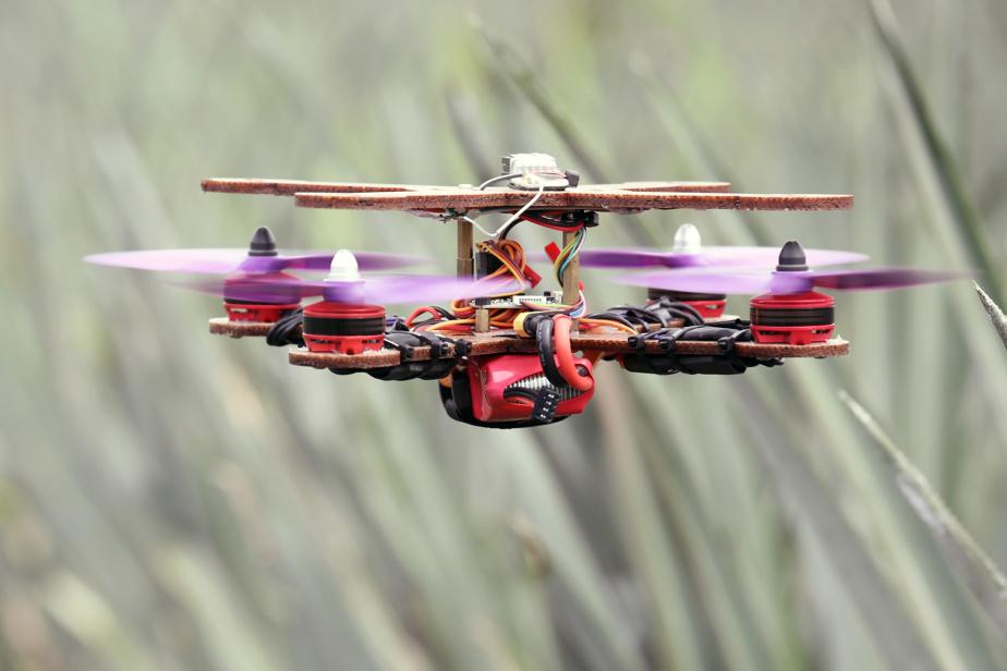Le drone a pu voler jusqu'à une hauteur de 1000mètres.