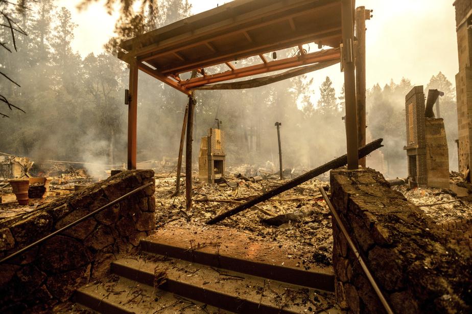 Il ne reste plus rien de l'établissement The Restaurant at Meadowood qui a été dévasté par les flammes.