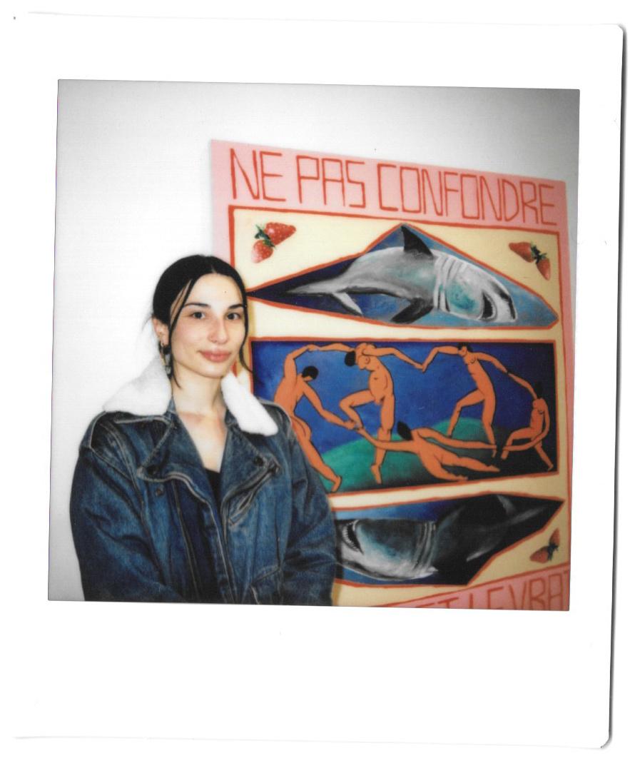 L'artiste Chloé Gagnon