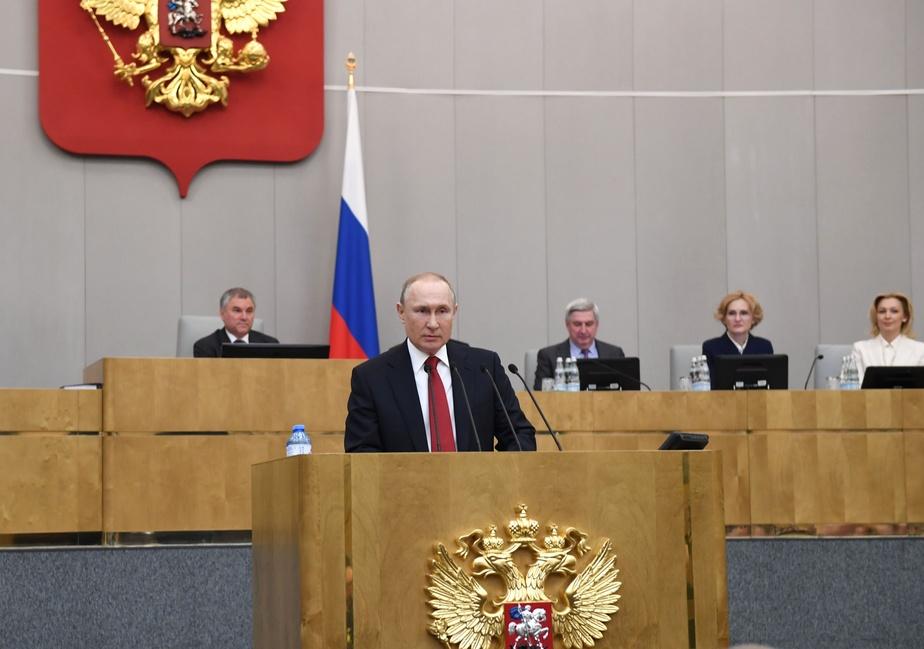 Blocage d'un site web contre la réforme constitutionnelle — Russie