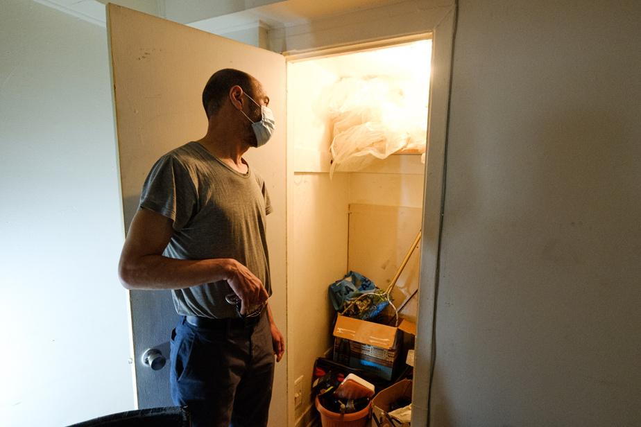 Hamid Essafi demeure dans cet appartement depuis le mois d'août2019.