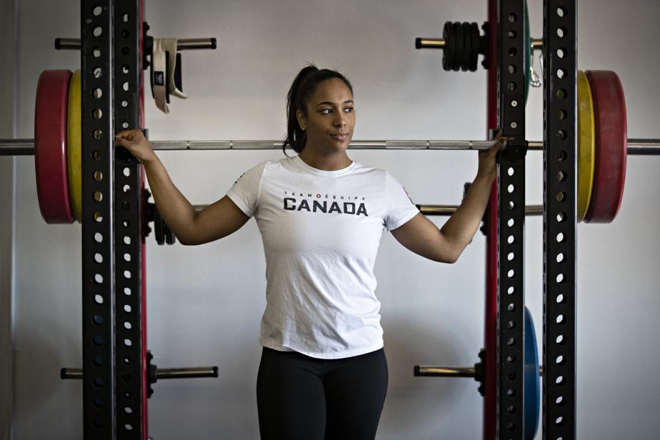 Kristel Ngarlem  0h50: en haltérophilie, chez les 76kg, la Québécoise Kristel Ngarlem participe à la finale B.