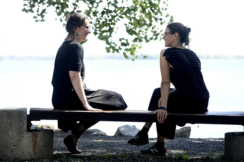 Janou-Eve LeGuerrier et Mélanie Verville, 25ans plus tard
