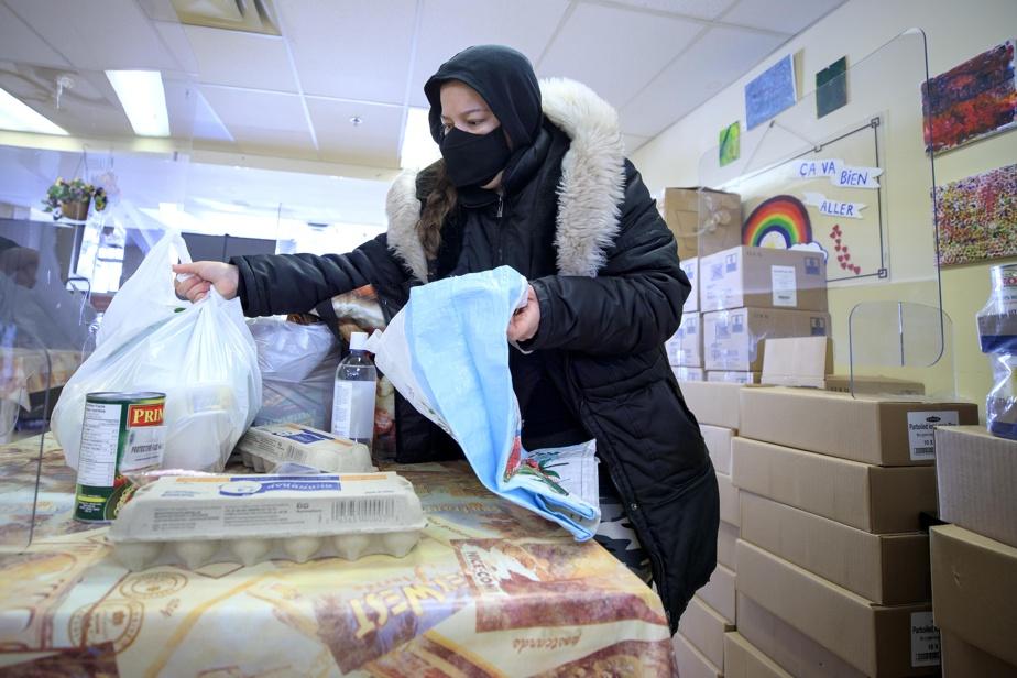 La grande majorité des personnes qui fréquentent l'organisme n'avaient jamais eu recours à de l'aide alimentaire avant le début de la pandémie.