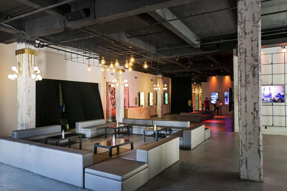 La galerie d'art numérique du Bazart, mise sur pied par 0x Society, serait la première du genre au Canada.