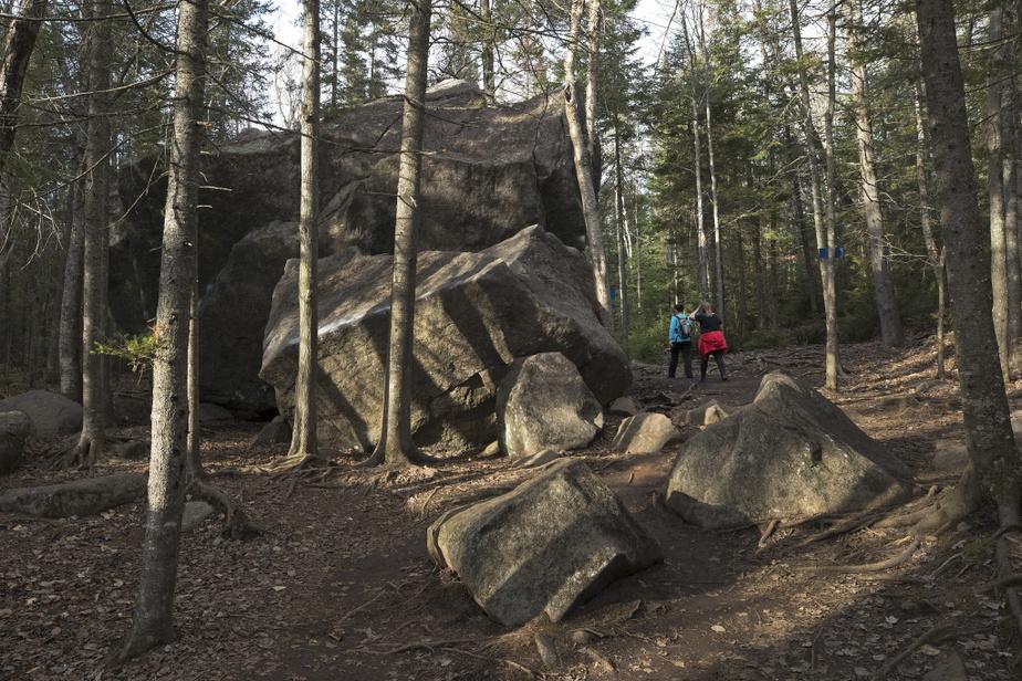 Randonnée au Parc régional Val-David–Val-Morin
