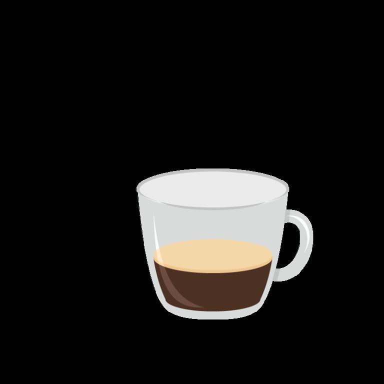 Espresso ristretto (ou serré)