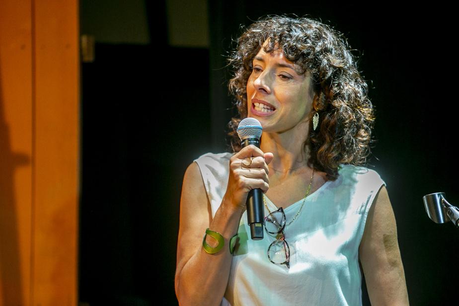 Grande amie de la compagnie, Marie-Hélène Thibault jouera pour une troisième fois dans une des créations du Petit Théâtre du Nord.