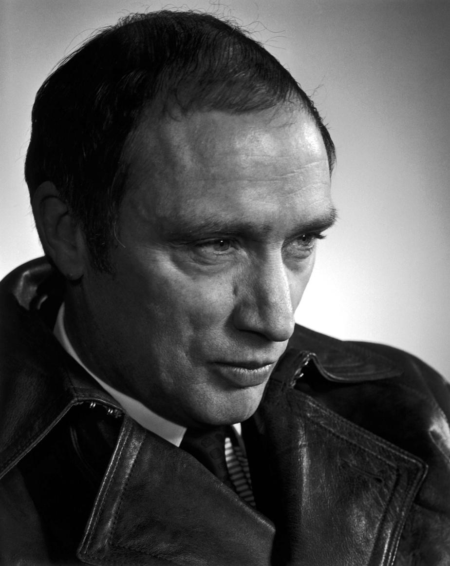 Pierre Elliott Trudeau, 1968, épreuve à la gélatine argentique, 33cm x 25,4cm. Don d'Estrellita Karsh à la mémoire de Yousuf Karsh.