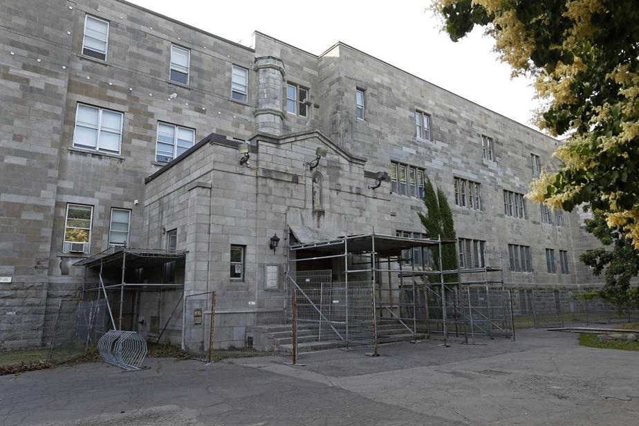 L'école secondaire Sophie-Barat, plus vieux bâtiment que possède le centre de services scolaire de Montréal