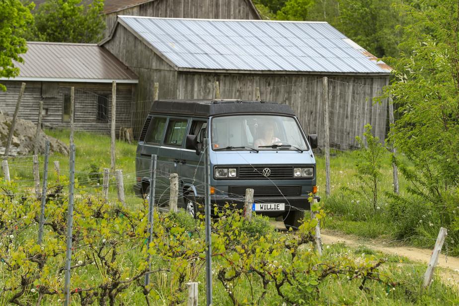 Les véhicules récréatifs sont admis chez les producteurs de Terego à condition de posséder une toilette portative et un contenant pour les eaux grises.