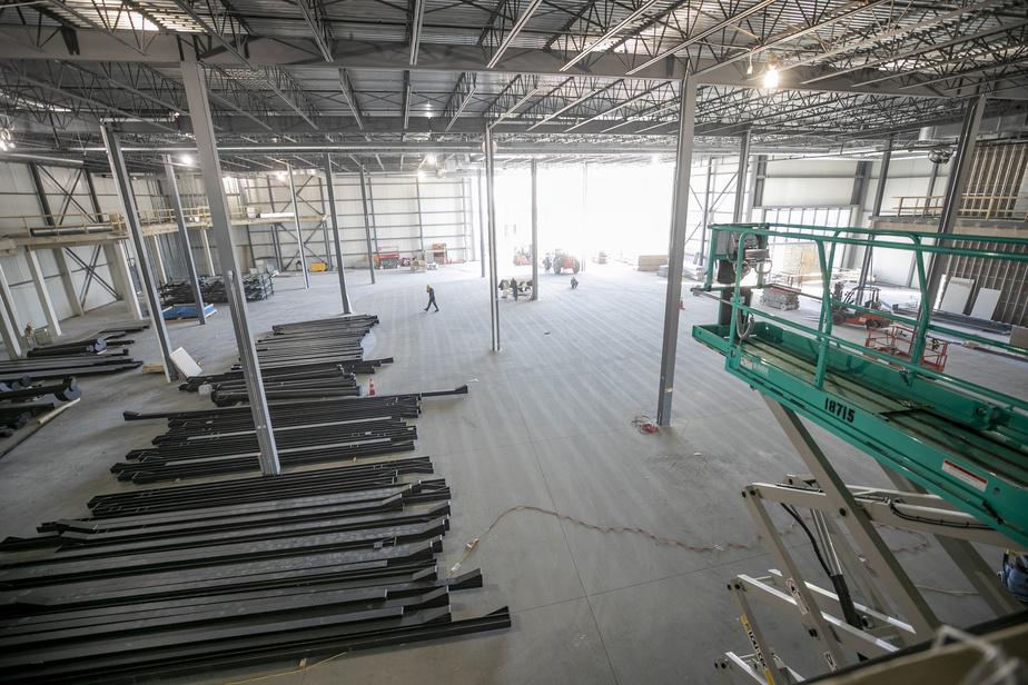 Le Centre TAG E-karting&Amusement, en construction, abritera neuf activités familiales.