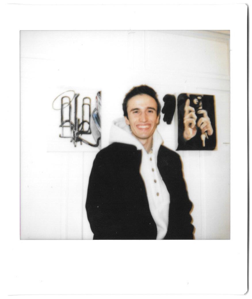 L'artiste Dexter Barker-Glenn