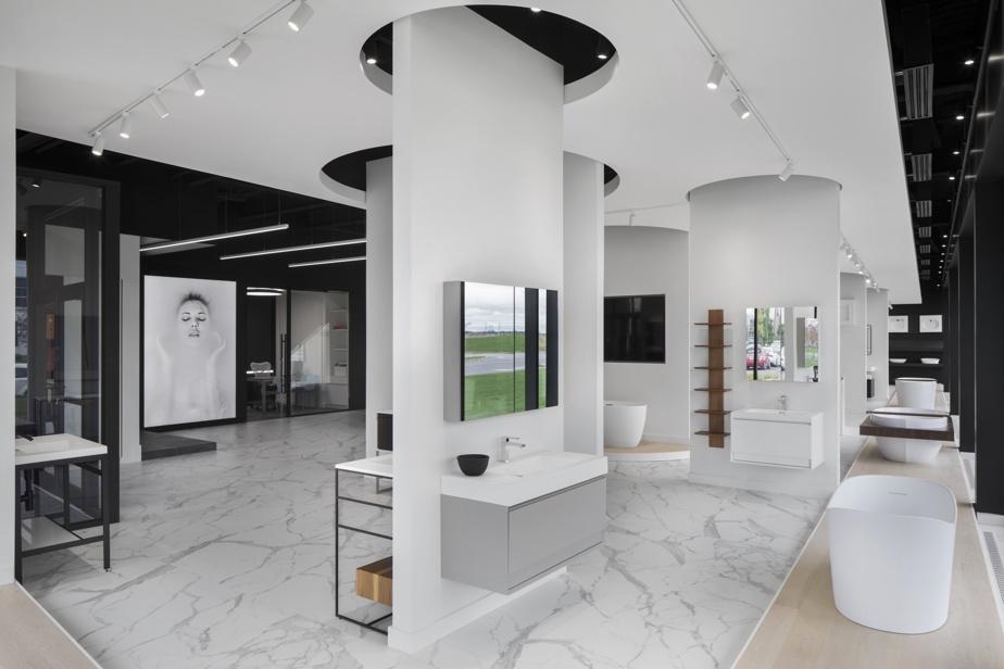 La nouvelle salle d'exposition de Wetstyle, à Saint-Bruno-de-Montarville