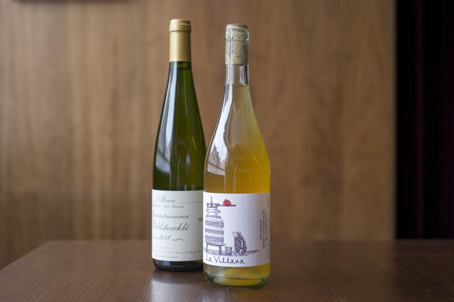 Vins blancs Bildstoeckle et La Villana