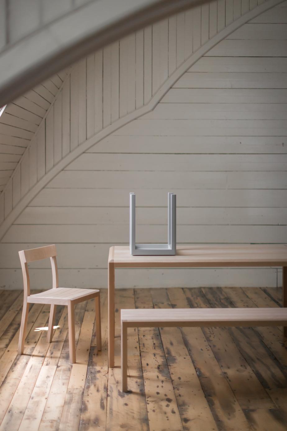 Articles de la deuxième collection des ateliers de Fogo qui, comme la précédente, donnent dans la fonctionnalité, le style et la simplicité.