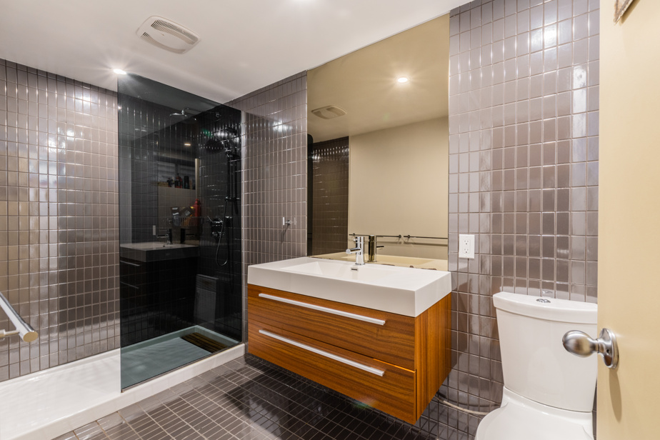 La salle de bains du sous-sol
