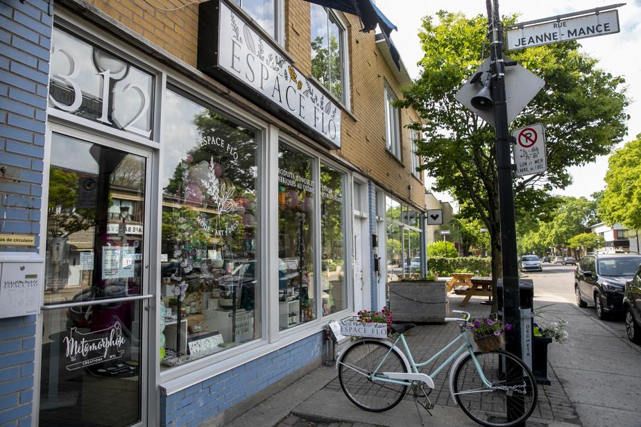 La boutique Espace Flo, où l'on vend uniquement des produits conçus et fabriqués au Québec, récent coup de cœur de Marie-France Bazzo.