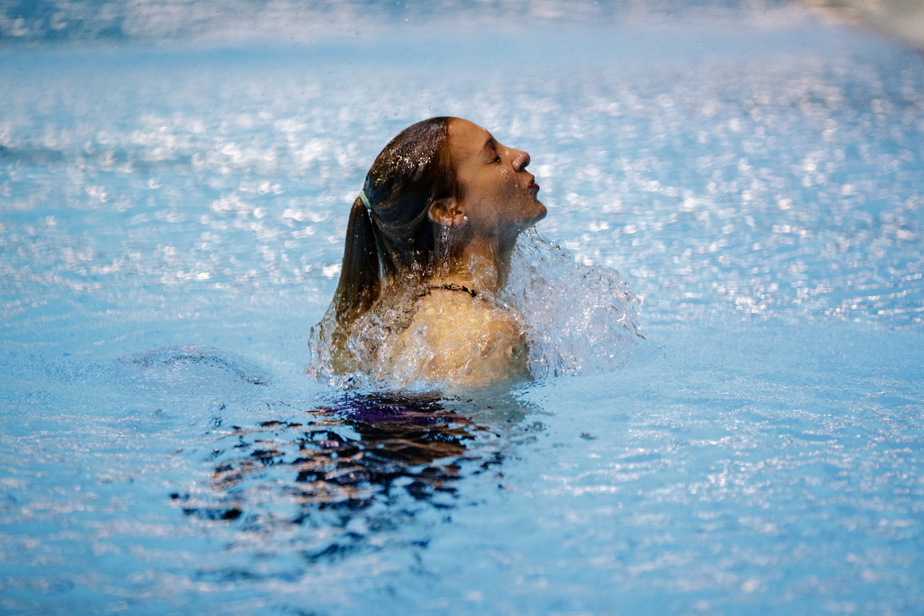 Lysanne Richard n'avait jamais sauté en synchro de la même plateforme qu'un autre plongeur.