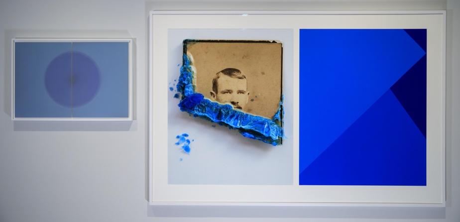 Vue de l'exposition Les impermanents, de Yann Pocreau
