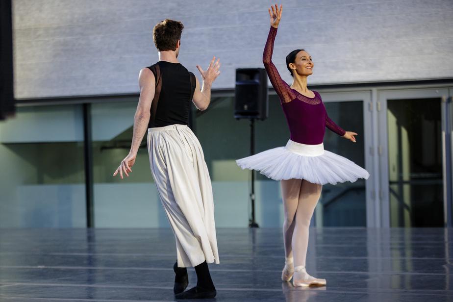 Myriam Simon, première danseuse des Grands Ballets