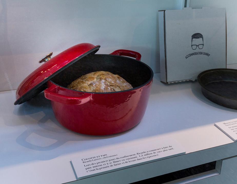 Cocotte pour faire du pain donnée au Musée par Ricardo Larrivée