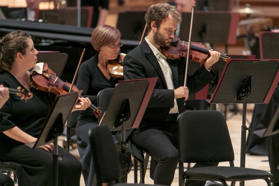 Concert de l'Orchestre symphonique de Montréal à la Maison symphonique