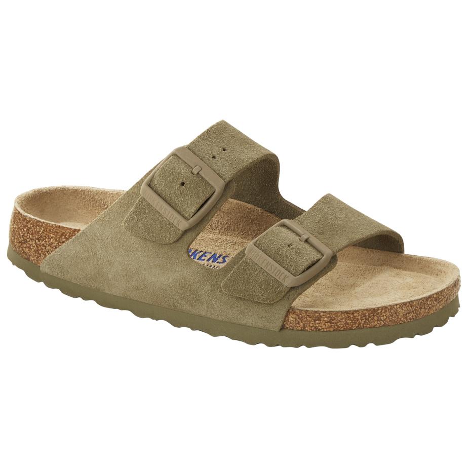 Modèle Arizona, suède, kaki très clair, 170$