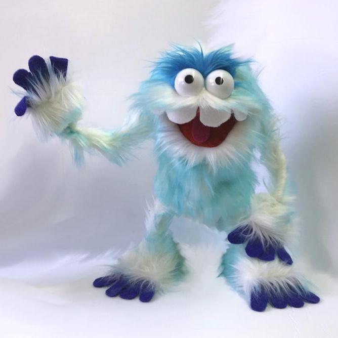 Un abominable monstre des neiges, tel qu'imaginé par Steven Barkley.