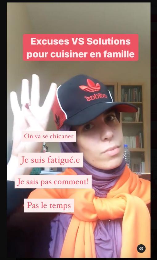 Houda Hatem s'amuse sur Instagram. «L'humour, ça aide à passer des messages», dit la nutritionniste.