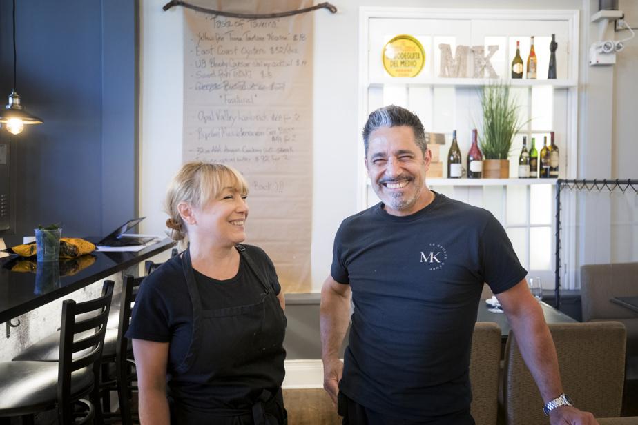 Tino Morganti est le chef-propriétaire du restaurant Main Kitchen avec sa femme, Marie-Josée Malo.