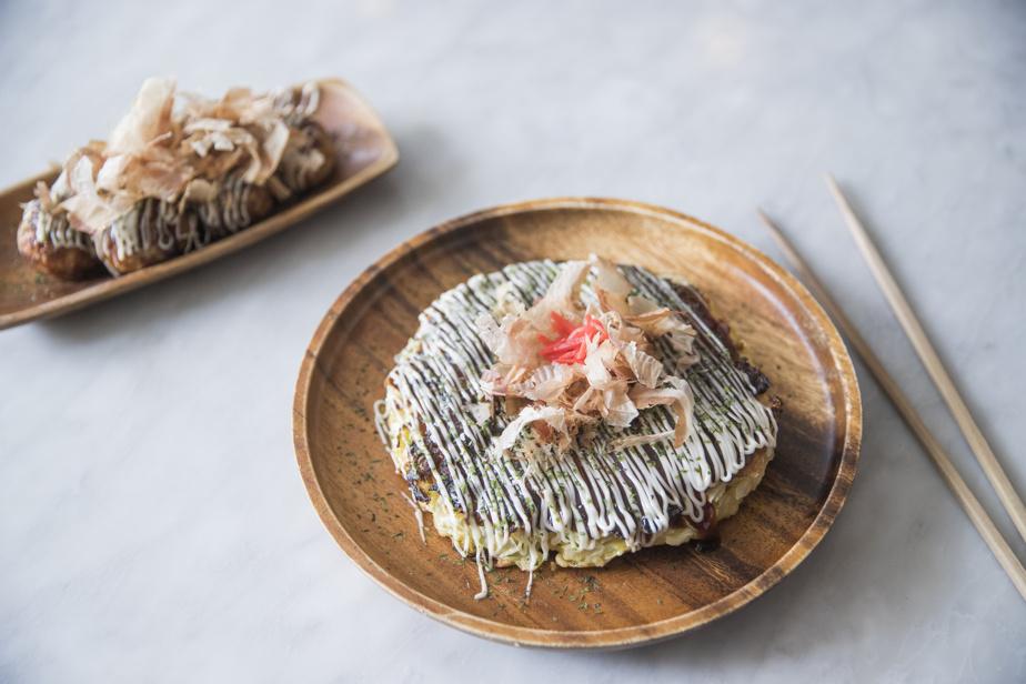 Au Noren, on se régale de ces deux spécialités japonaises que sont les takoyaki et les okonomiyaki.