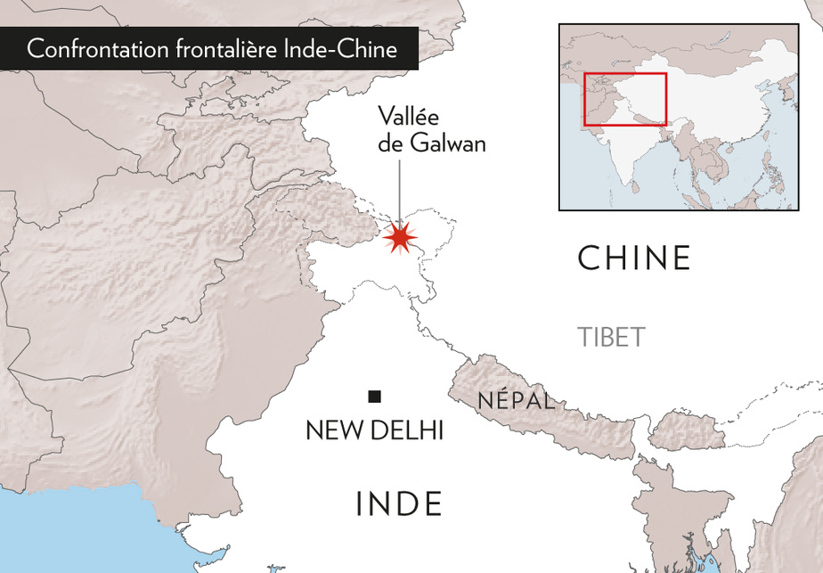 Plusieurs soldats indiens tués par l'armée chinoise pendant de violents combats