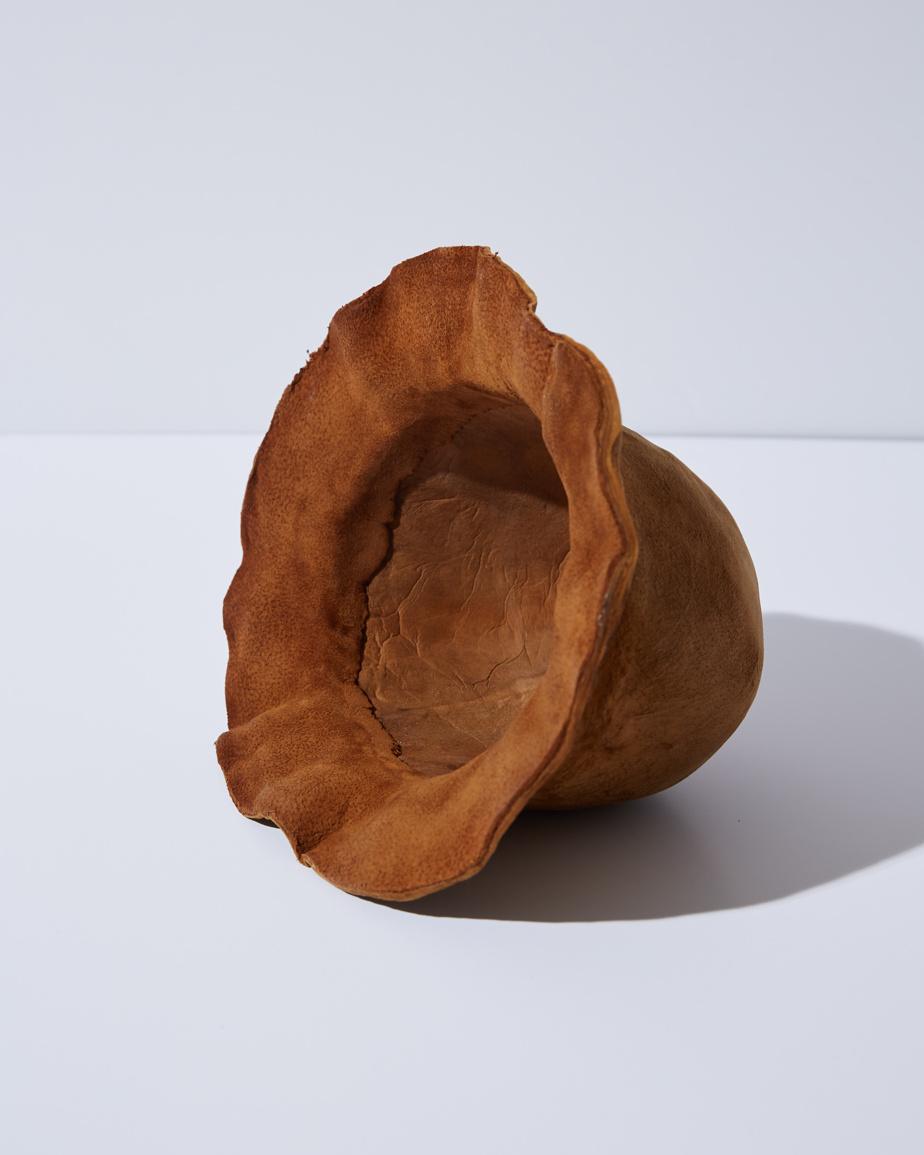 Chapeau à base de mycélium