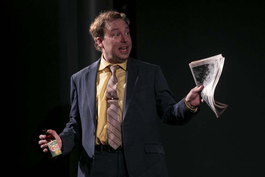 François Chénier, qui a partagé plusieurs projets professionnels avec Michel Charette, incarne ici le père fictif de Claude.