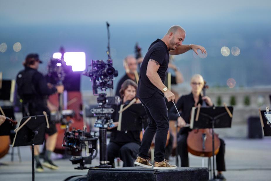 «L'idée est d'ajouter à la trame musicale de Beethoven, dont la musique est empreinte d'espoir et de renouveau, des images des musiciens et de notre magnifique montagne, qui trône au cœur de Montréal. Nous souhaitons que ce concert reflète la nécessité de l'art, qui s'affirme aujourd'hui, en temps de pandémie, plus que jamais», a affirmé Yannick Nézet-Séguin le soir de l'enregistrement.