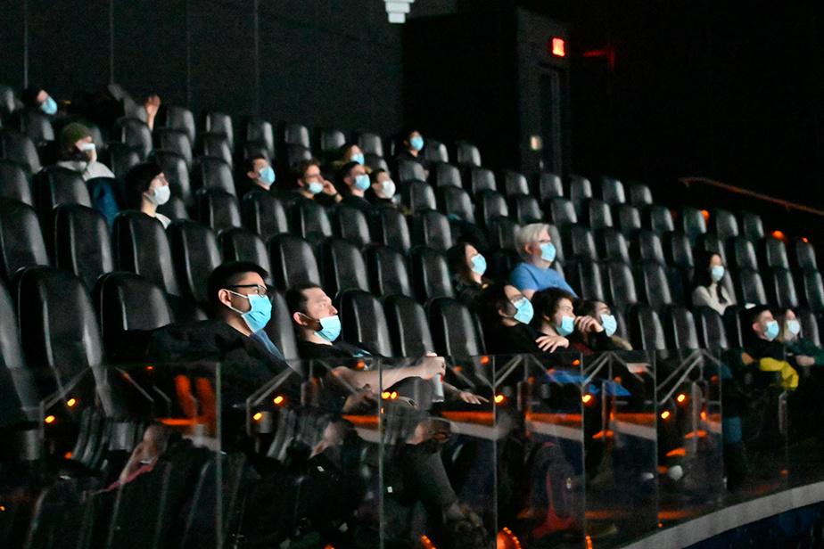 La salle IMAX du cinéma Banque Scotia