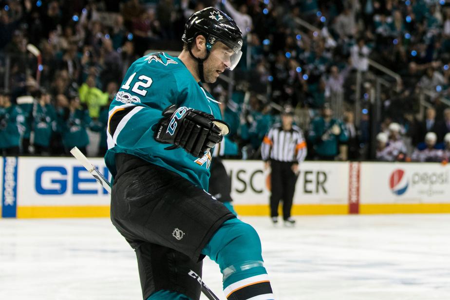 Patrick Marleau est de retour avec les Sharks