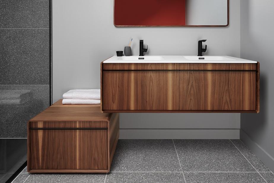 Meuble-lavabo contemporain