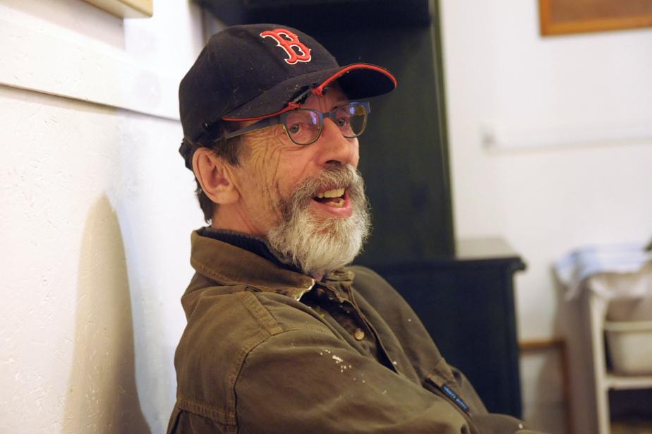 Louis-Pierre Bougie dans son atelier en 2016
