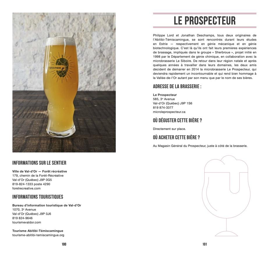 La microbrasserie Le Prospecteur, de Val-d'Or, est le coup de cœur brassicole de Bianca Pomerleau.