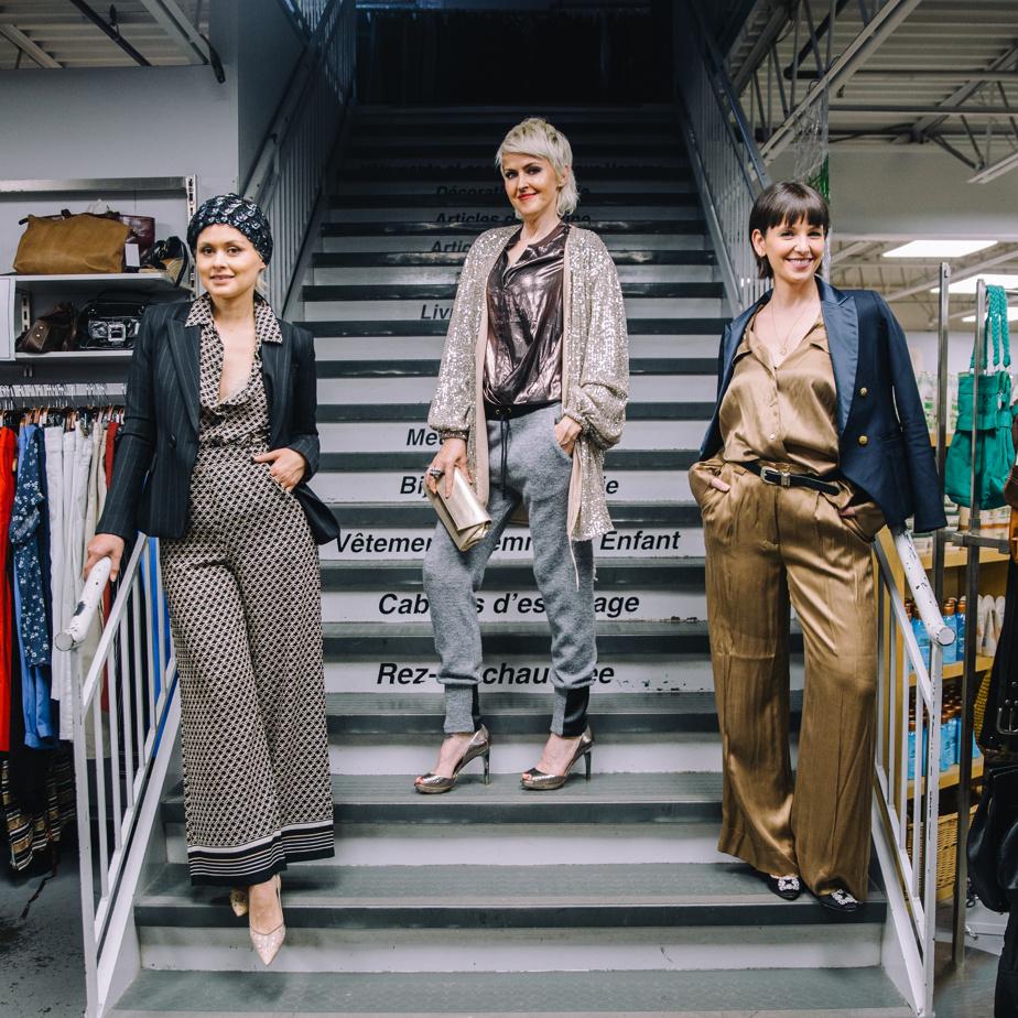 La blogueuse mode Lolitta Dandoy ainsi que les animatrices Geneviève Borne et Laurence Bareil sont les trois marraines de l'évènement.
