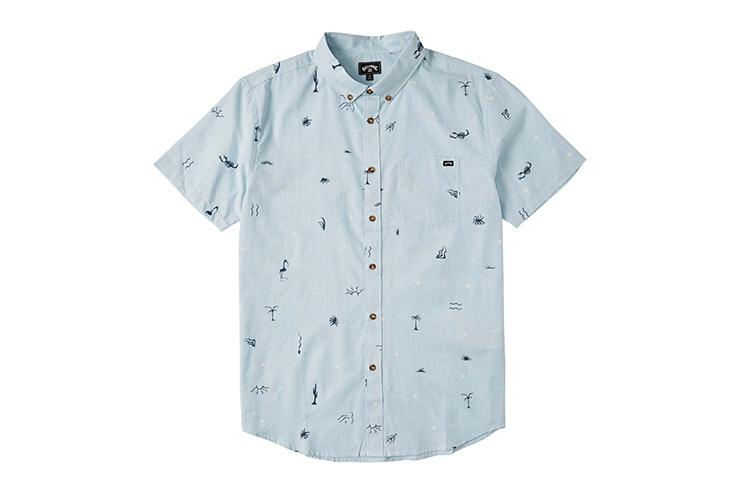 Chemise à manches courtes pour homme BILLABONG Sundays Mini, 975129
