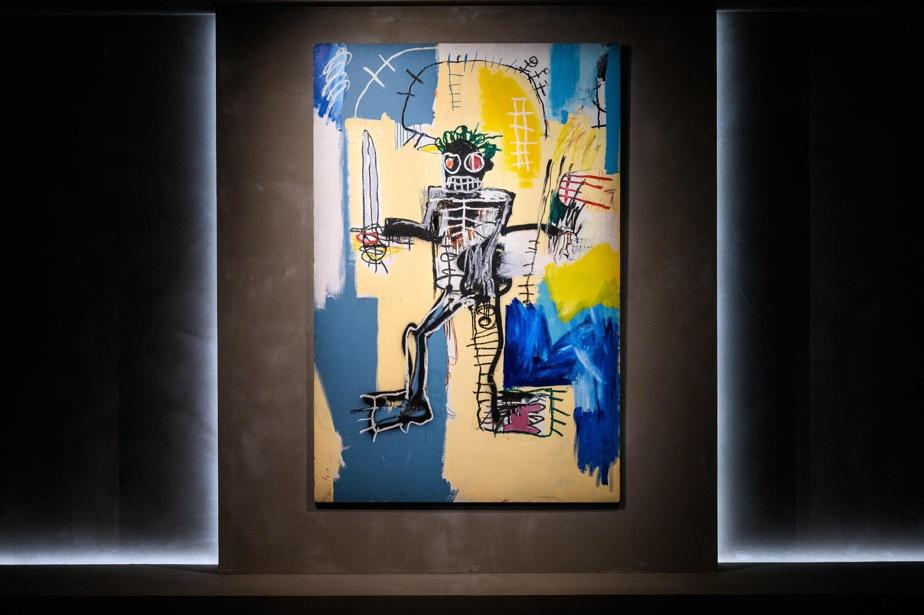 Warrior (1982), de Jean-Michel Basquiat, a été vendu en Asie, le mois dernier, pour 51,9millions, ce qui en fait l'œuvre occidentale la plus chère jamais vendue en Asie.